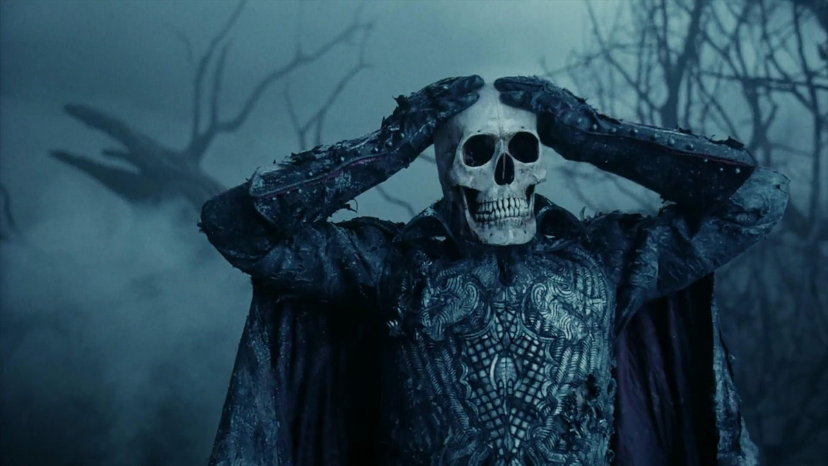 The Headless Horseman in Tim Burton's Sleepy Hollow