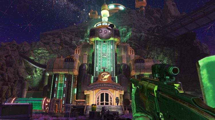 Outer Worlds Peril On Gorgon Synthesis And Manufactory
