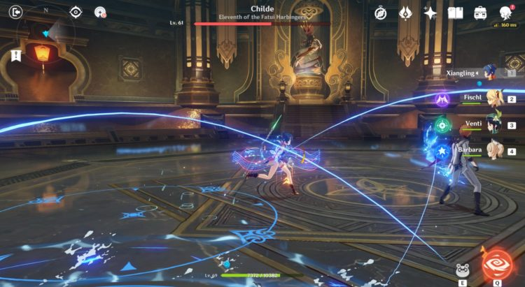 Genshin Impact Childe Boss Fight 2a