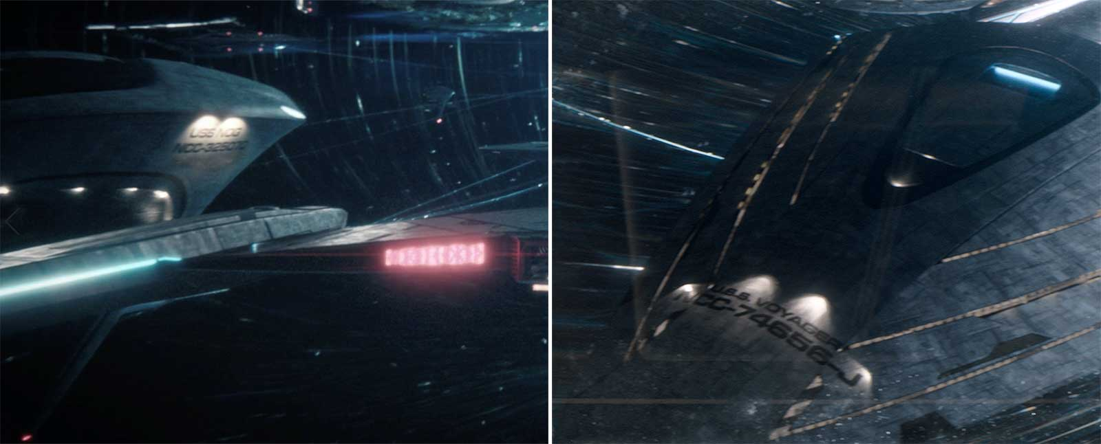 The USS Nog and the USS Voyager-J