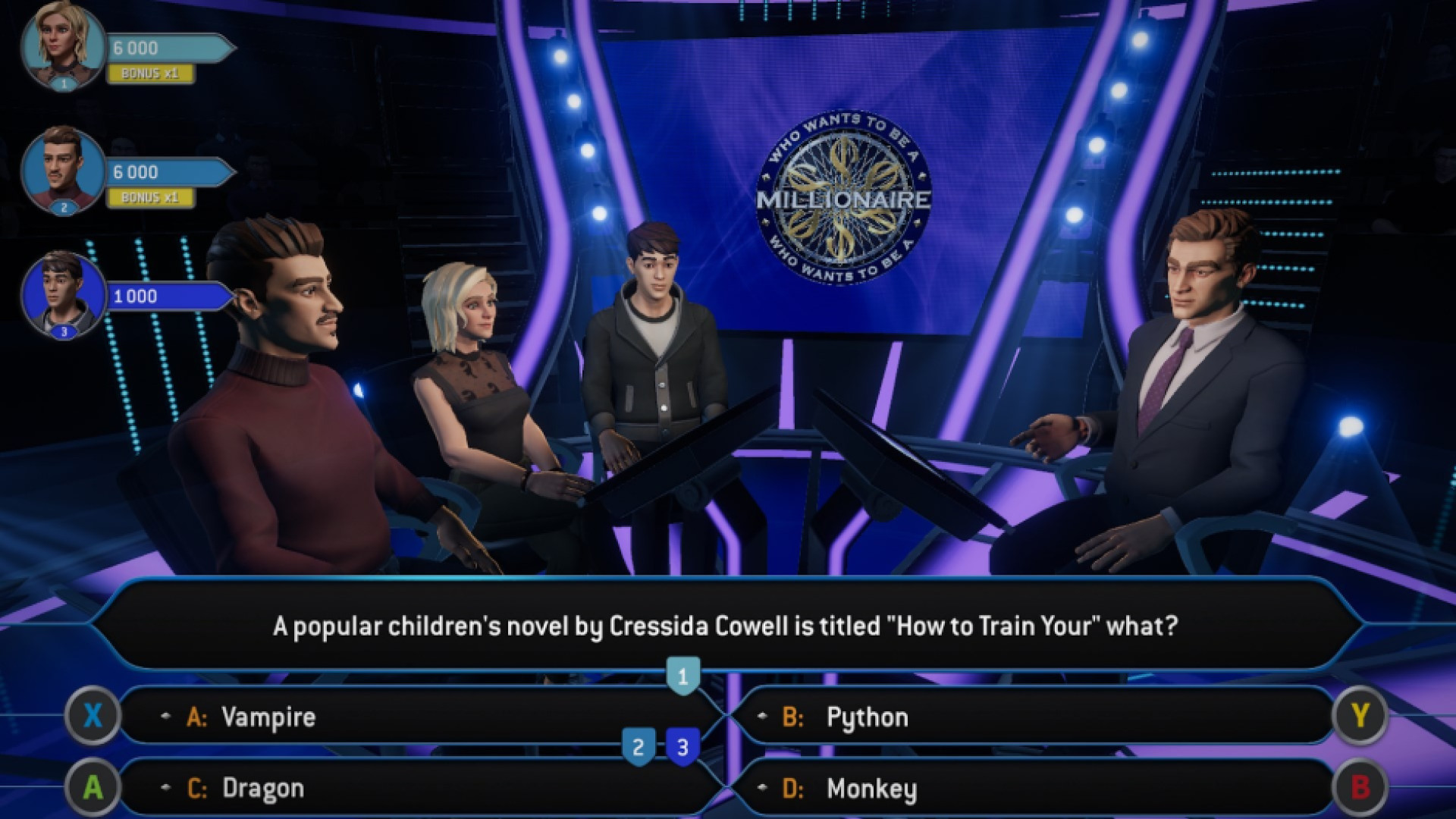 Who Wants to be a Millionaire? – November 17