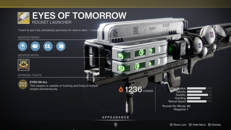Destiny 2 Beyond Light Eyes Of Tomorrow Exotic Gjallarhorn 2