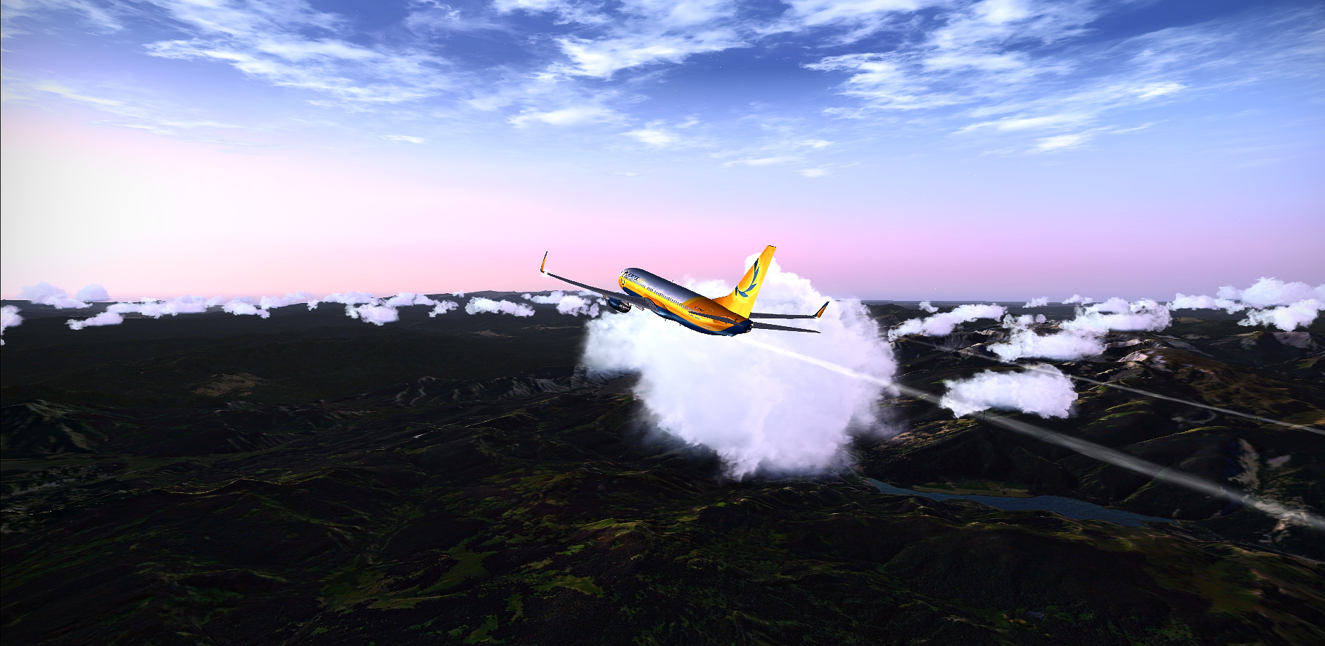 Fsx Above The Mountains