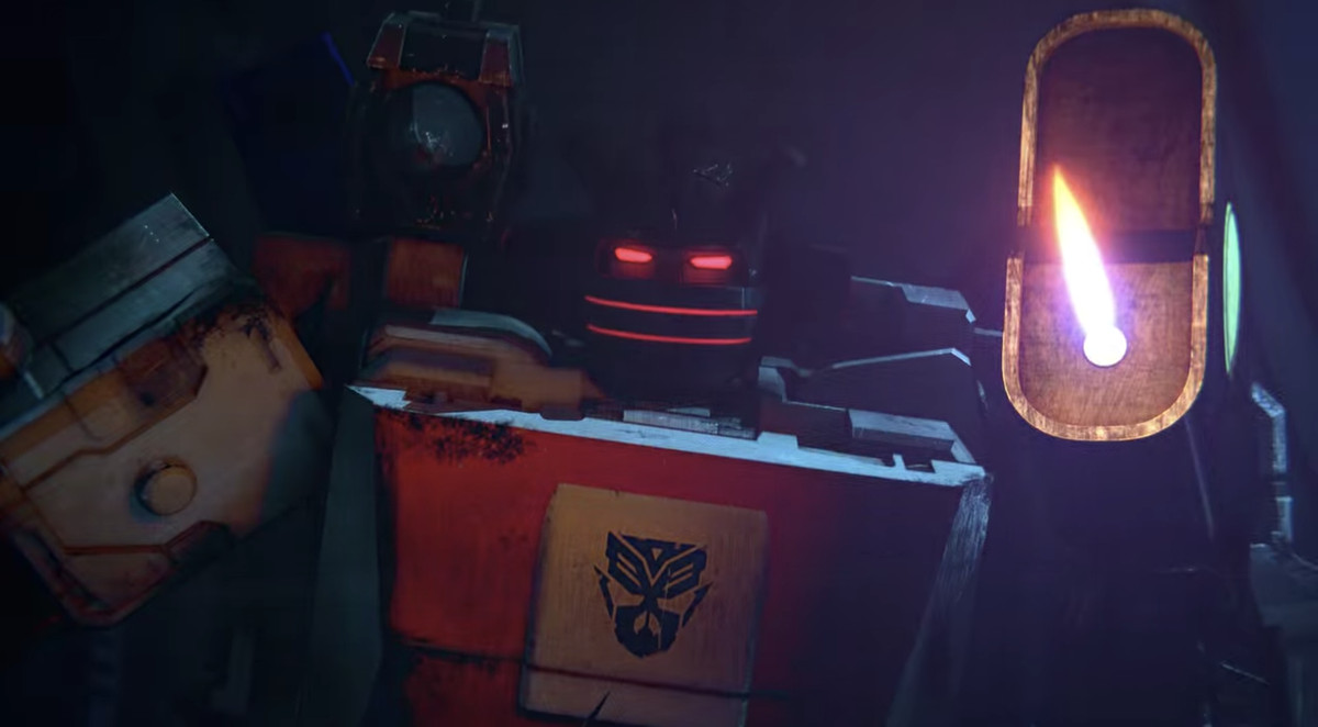 Exhaust, the Marlboro cigarettes lighter Transformer in War for Cybertron - Earthrise