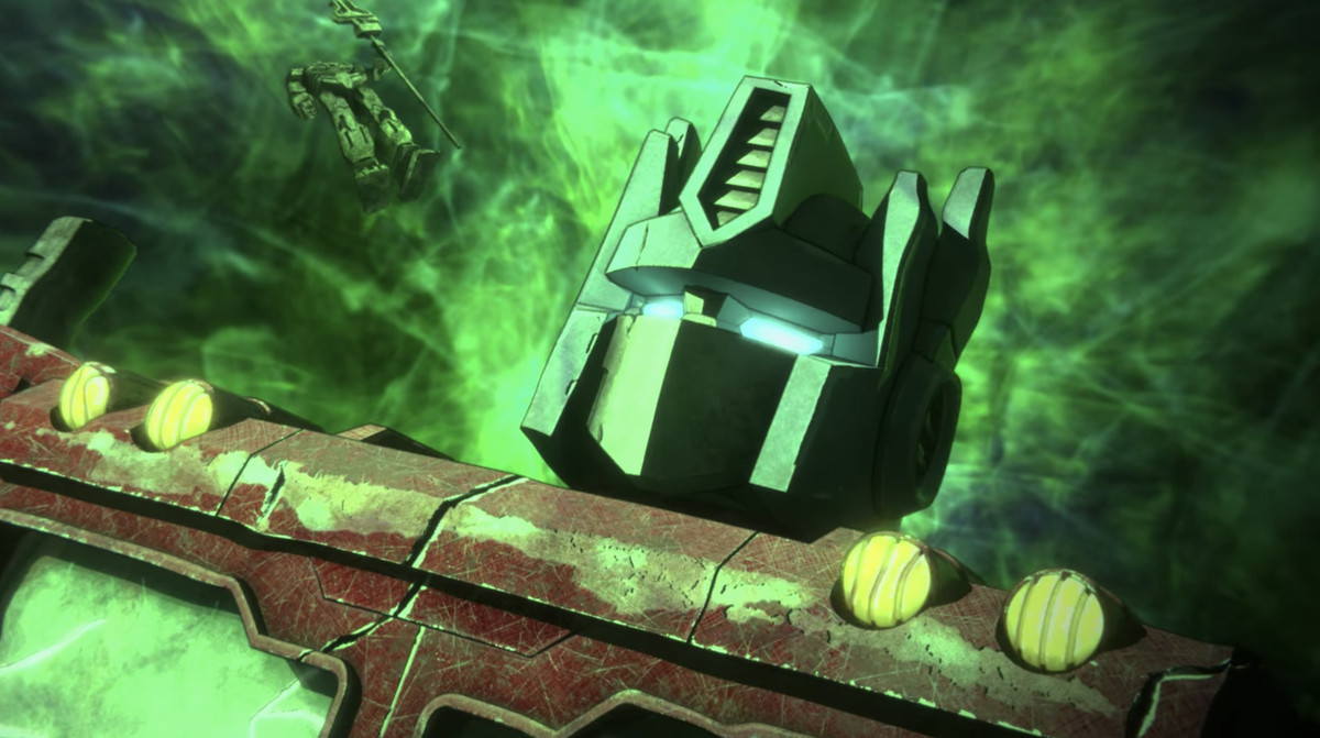 An Alchemist Prime cameo in Transformers: War for Cybertron: Earthrise