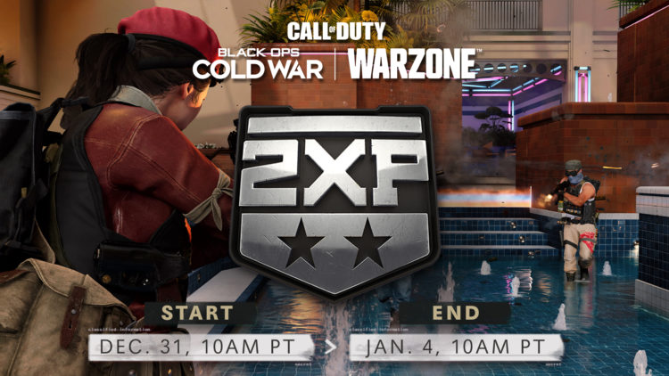 Black Ops Cold War Warzone Double Xp