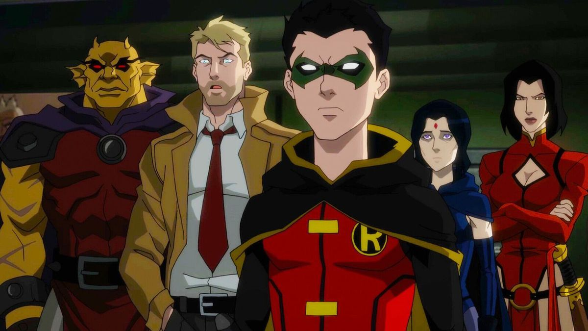 Justice League Dark: Apokolips War: Robin and Constantine
