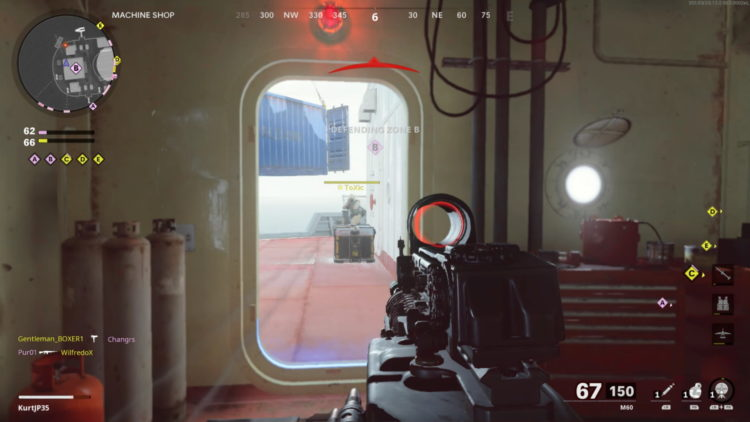 Cod Black Ops Cold War M60 Caught Out