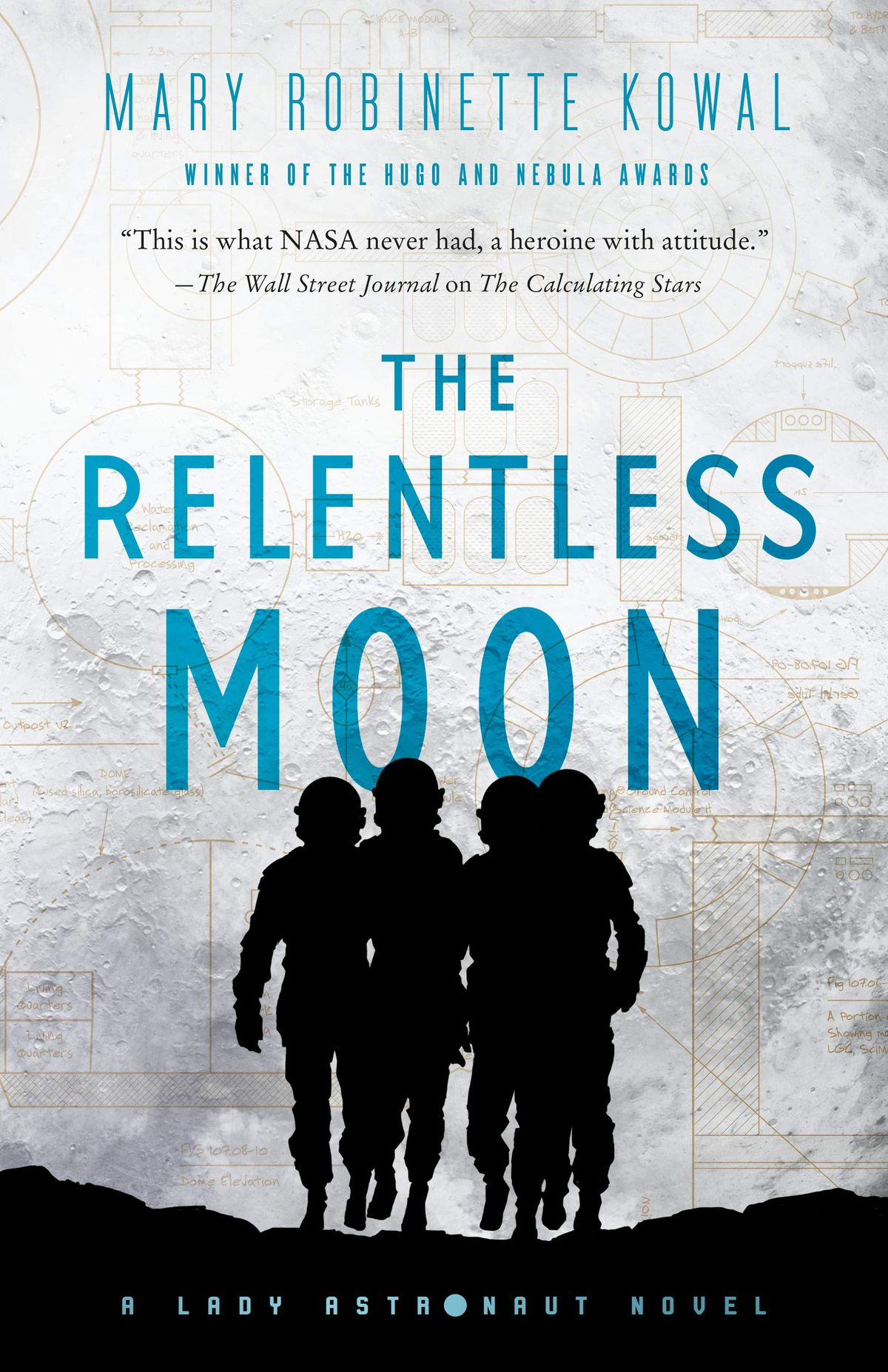 The Relentless Moon by Mary Robinette Kowal cover
