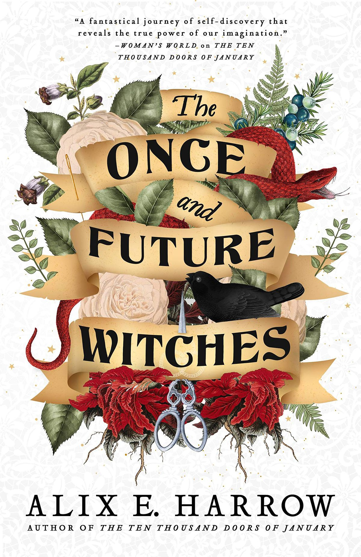 The Once and Future Witches by Alix E. Harrow cover