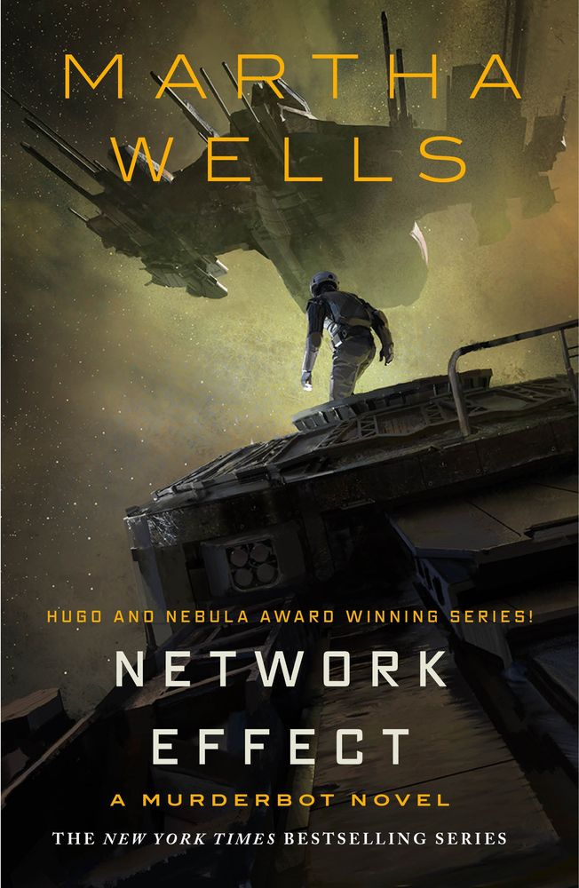 Network Effect by Martha Wells cover