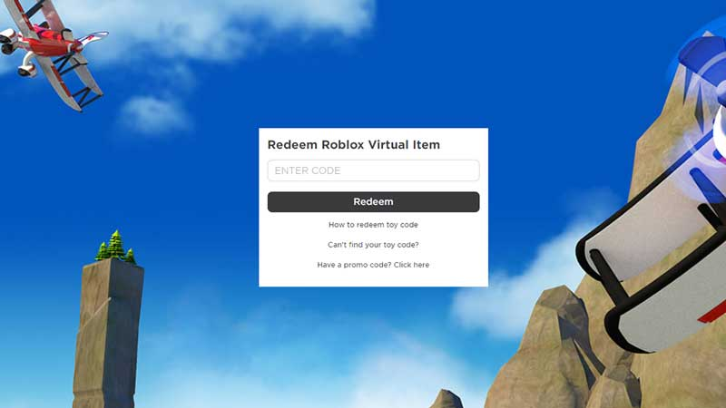 Roblox Toy Promo Codes