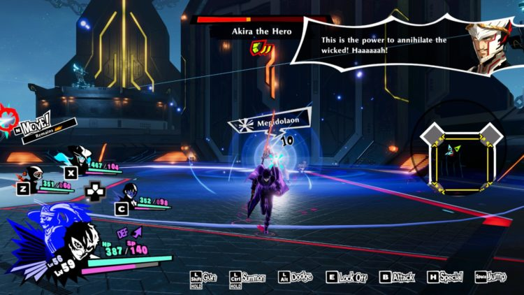 PS5 Akira The Hero boss fight Megidolaon