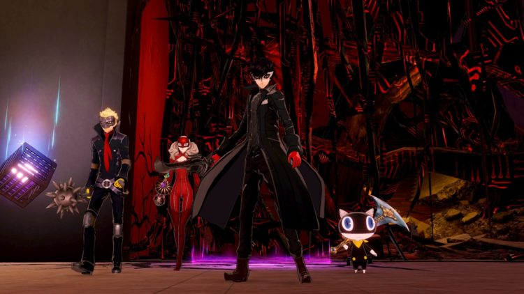 Persona 5 Strikers Ultimate Weapons