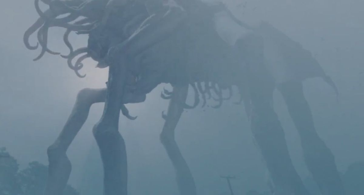 Phantasmagorical creature from The Mist