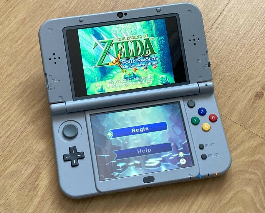 Zelda Four Swords Annivrsary Edition 3DS