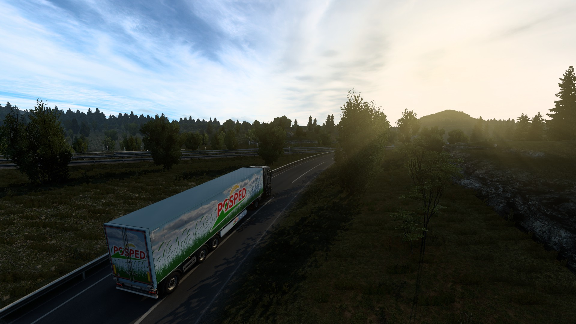 ETS 2 Update 1.40 Morning Drive
