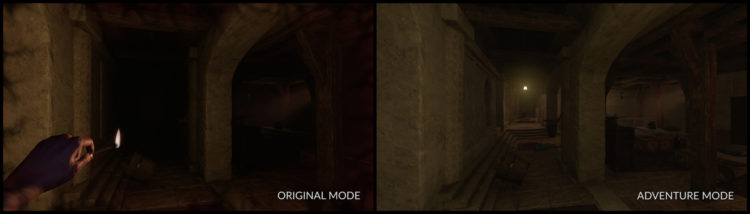 Amnesia Rebirth Story Mode Before After