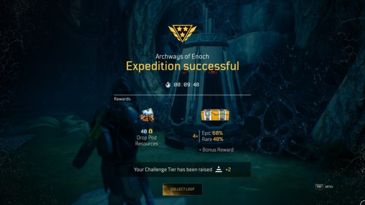 Outriders Expedition Endgame Guide Eye Of The Storm Archways Of Enoch Drop Pod Resources 2