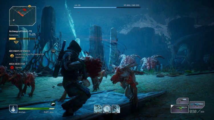 Outriders Expedition Endgame Guide Eye Of The Storm Archways Of Enoch Drop Pod Resources 1b