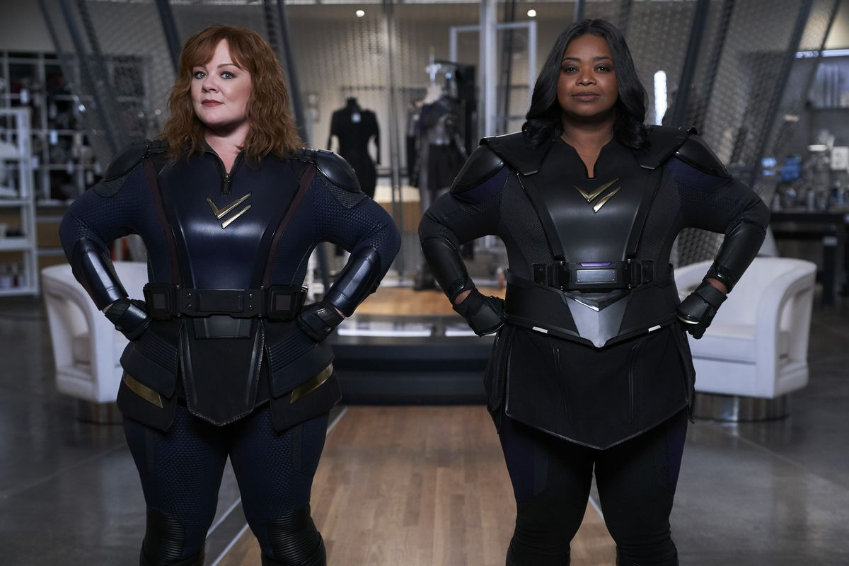 (Left to Right): MELISSA MCCARTHY as LYDIA, OCTAVIA SPENCER as EMILY