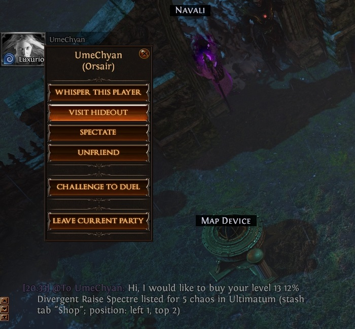 Path of Exile How to Trade Party