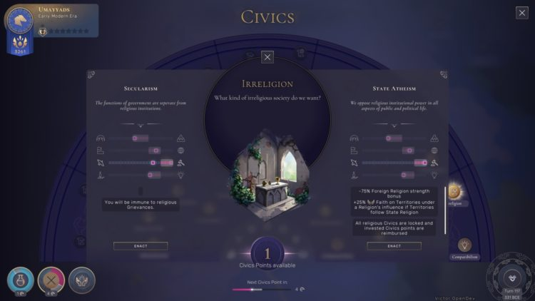 Humankind Civics Stability Guide 2