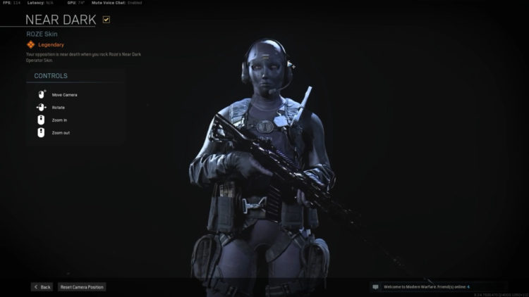 The Annoying Roze Skin In Call Of Duty Warzone Will Undergo Adjustments (2)