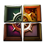 Key to the Crucible map fragments