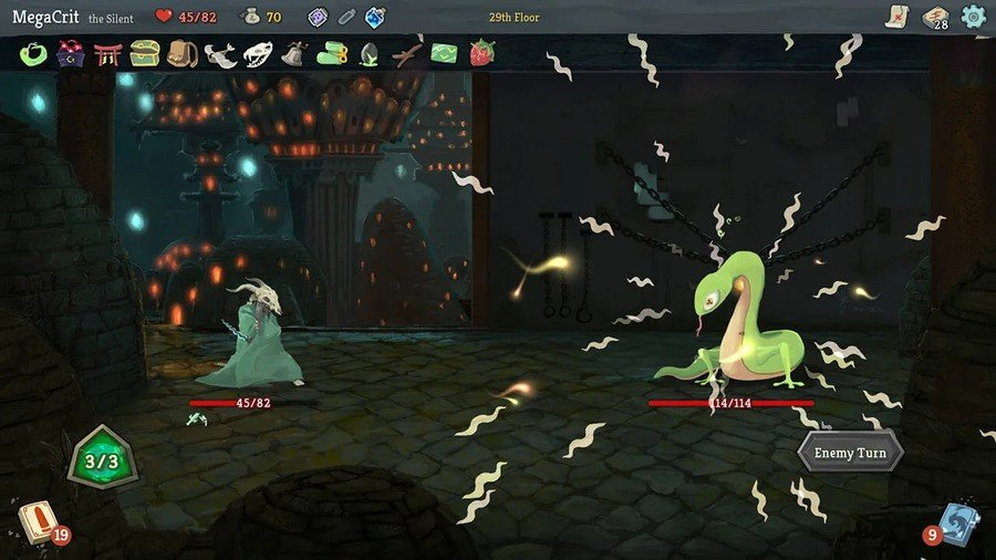 I'm not won over by Slay the Spire's art, but it's just such a cracking game