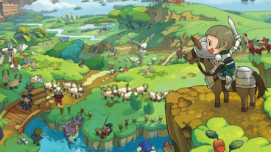 I gave Fantasy Life 94% in Official Nintendo Magazine and I STAND BY IT