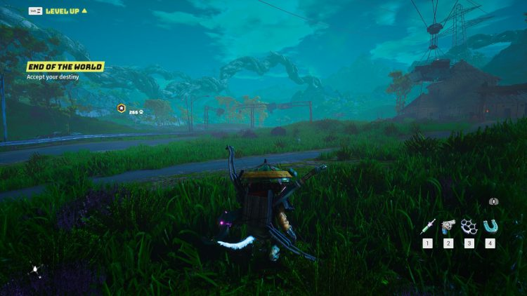 Biomutant tech review Draw Distance Max