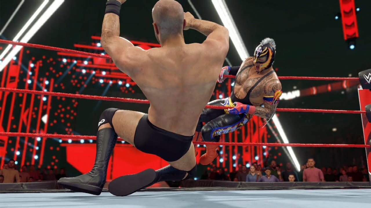For me, WWE 2K22 is the series' last chance to redeem itself.