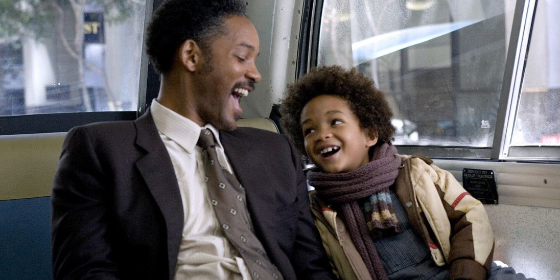Will Smith and Jaden Smith in The Pursuit of Happyness
