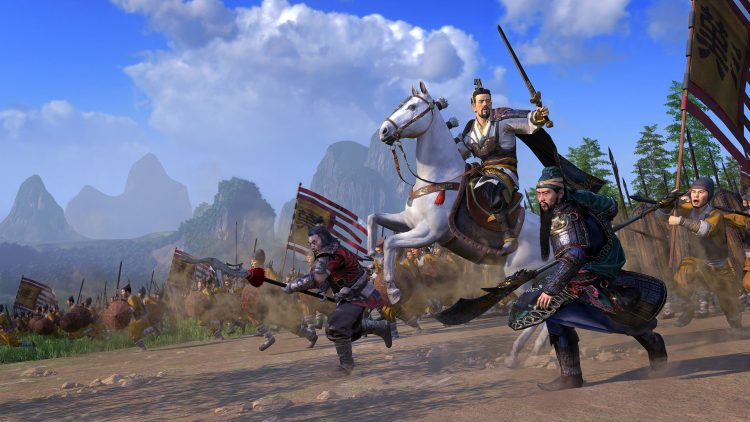 New Total War Three Kingdoms Game Creative Assembly