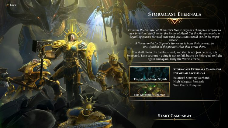 Warhammer Age Of Sigmar Storm Ground Beginner's Guide Tips Stormcast Eternals campaign