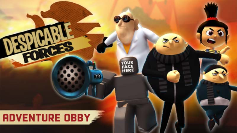 Minions Adventure Obby Despicable Forces