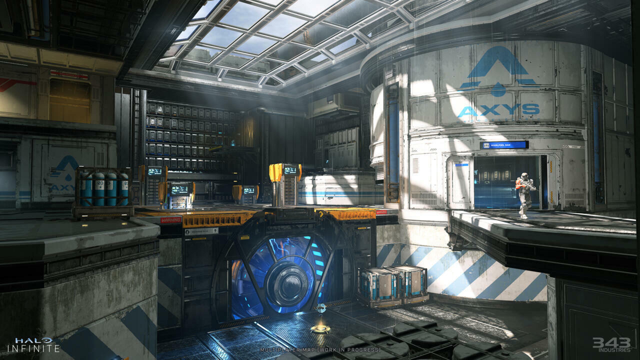343 Industries provided a second angle on the map as well.