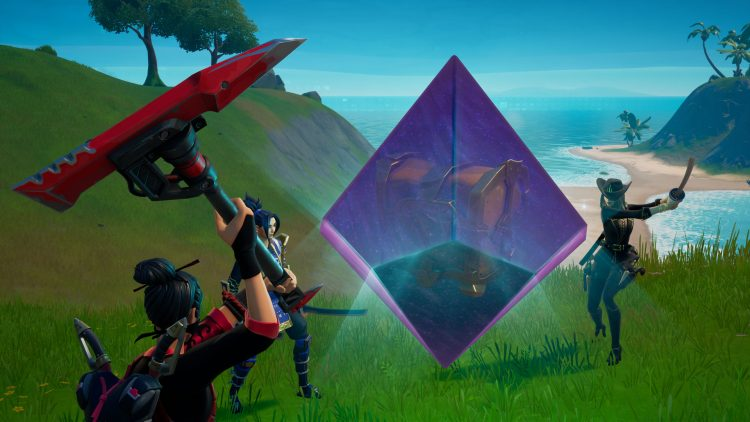 Fortnite Cosmic Chest Alien Artifacts Locations 2