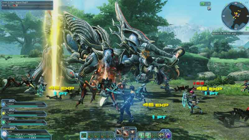 How To Play With Friends In PSO2 New Genesis