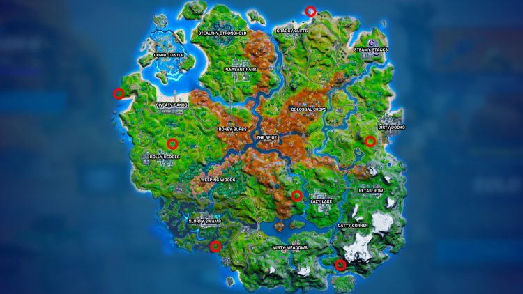 Fortnite Where To Destroy Spooky Tv Sets Guide