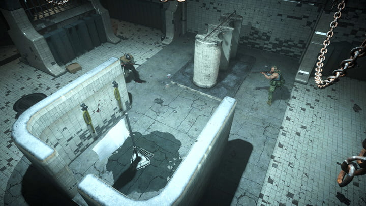 Players in the Gulag in Call of Duty: Warzone.