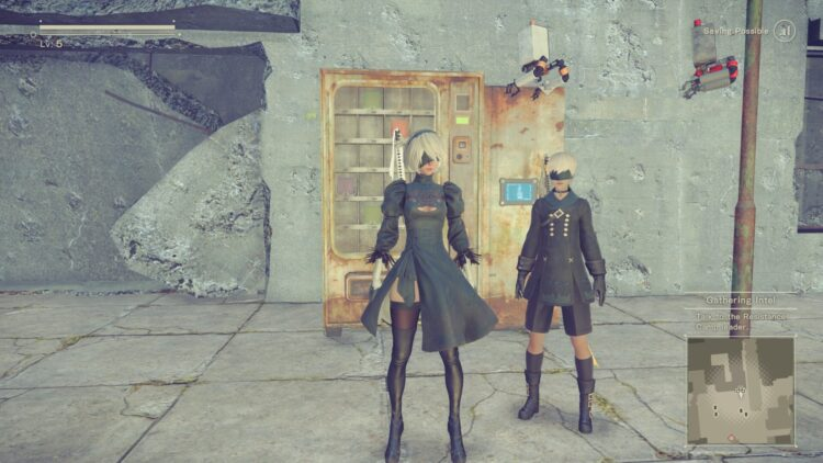 Nier Automata patch analysis Before 1
