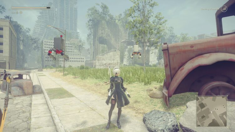 Nier Automata patch analysis Before 2