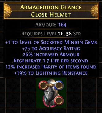 Crafted item from Rog