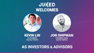 Pictures of Juked investors, Lin and Shipman