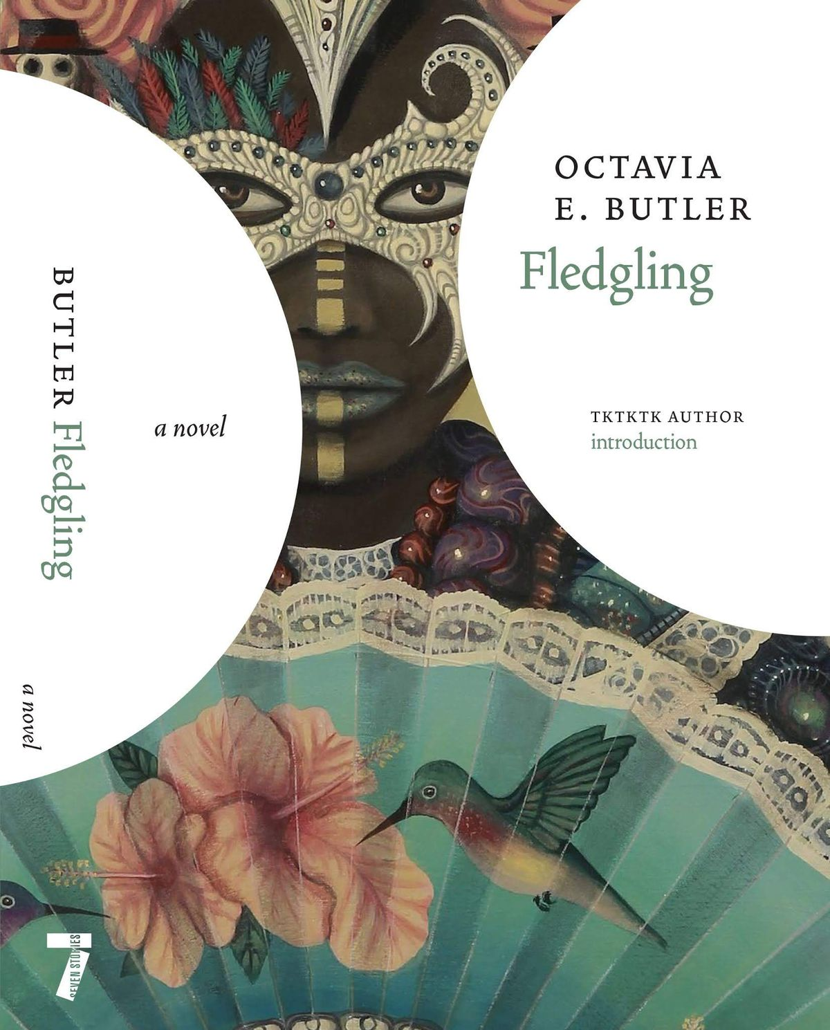 Fledgeling by Octavia Butler new cover by Seven Stories Press
