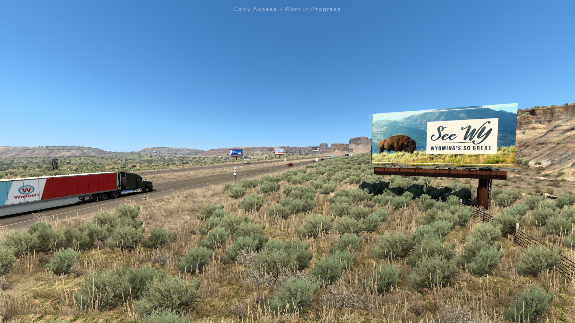 ATS Wyoming See Wy Sign