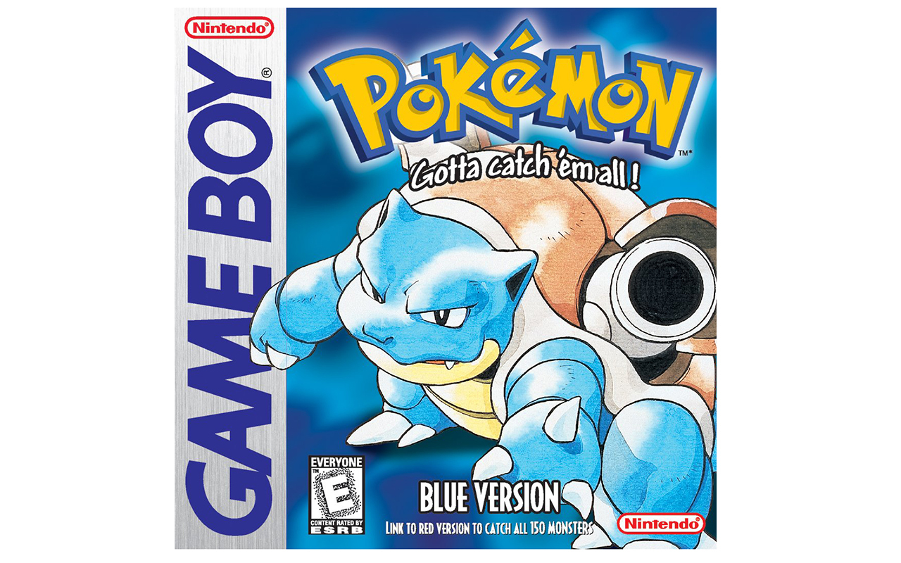 Pokemon Blue, Red, and Yellow