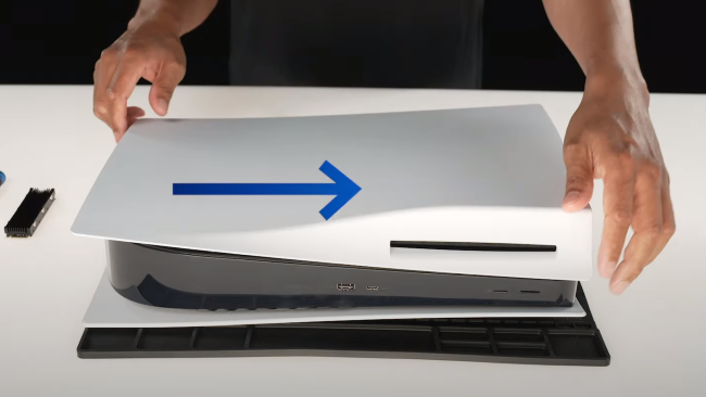 how to install PS5 SSD expansion